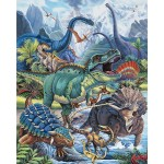 Dinotopia Cotton Panel