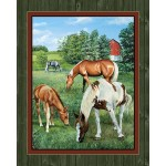 Valley Crest Horses Cotton Wall Panel