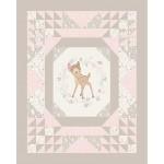 Bambi Framed Cotton Panel