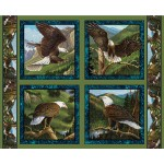 Flying High Eagle Pillow Panel
