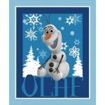 Frozen Olaf Cotton Cotton Panel