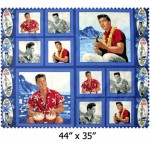 Elvis Presley Hawaii Cotton Panel Irregular
