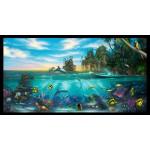 Paradise Found Ocean Life Cotton Panel