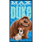 Secret Life of Pets Max and Duke Cotton Panel