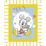 OH Boy Mickey Mouse Cotton Panel