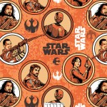 Star Wars Rogue Orange Fleece