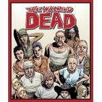 Walking Dead Character Cotton Panel