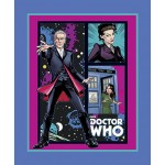 Doctor Who Telephone Box Cotton Panel