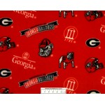 University of Georgia Icon Toss Fleece