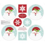 Christmas Cheer Placemat Cotton Panel