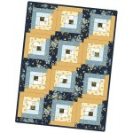 English Countryside Log Cabin Quilt Kit