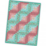 Roam Sweet Home Log Cabin Pre-Cut Quilt Kit