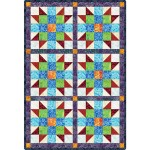 Sister's Choice Java Batik Brights Pre-Cut Quilt Kit