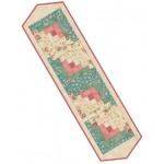 Welcome Home Rose Teal Table Runner Pre-Cut Kit