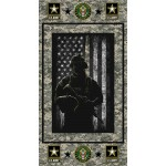 United States Army Image Cotton Panel