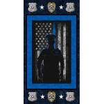 Police Department Image Cotton Panel