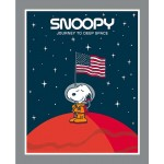 Snoopy Journey to Deep Space Panel
