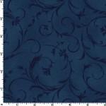 Steel Blue Beautiful 108 Wide Cotton