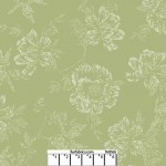 Shadow Flower Moss Green 108 Cotton