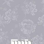 Shadow Flower Light Gray 108 Cotton