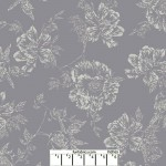Shadow Flower Pewter Gray 108 Cotton