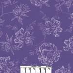 Shadow Flower Purple 108 Cotton
