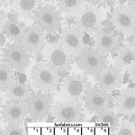 Sunflower Whisper Lt Gray 108 Cotton