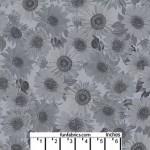 Sunflower Whisper Med Gray 108 Cotton