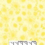 Sunflower Whisper Yellow 108 Cotton