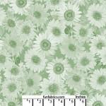 Sunflower Whisper Green 108 Cotton