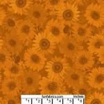 Sunflower Whisper Russet 108 Cotton