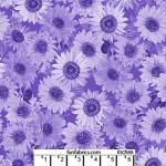 Sunflower Whisper Purple 108 Cotton