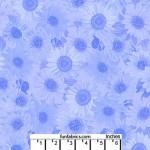 Sunflower Whisper CornBlue 108 Cotton