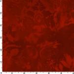 Red Vintage Damask 108 Wide Cotton