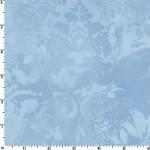 Light Blue Vintage Damask 108 Wide Cotton