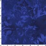 Cobalt Vintage Damask 108 Wide Cotton