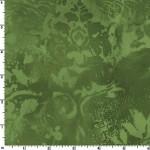 Green Vintage Damask 108 Wide Cotton