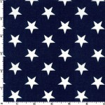 Patriotic Stars Navy 108 Wide Cotton