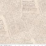 Jane Austen at Home 108 Wide Cotton