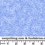 Powder Blue Boughs 108 Cotton