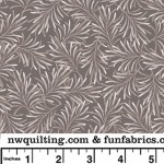Pewter Gray Boughs 108 Cotton