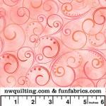 Coral Swirling Splender 108 Cotton