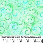 Mint Swirling Splender 108 Cotton