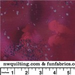 Raspberry Slush Fossil Fern 108 Cotton