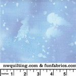 Sky Blue Fossil Fern 108 Cotton