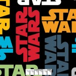 Star Wars Words Repeat Fleece