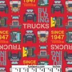 Tonka Trucks Building Blocks Red Cotton