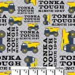 Tonka Tough Yellow Tonka Trucks Cotton
