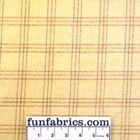 Soft Yellow Plaid Flannel