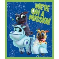 Puppy Dog Pals On a Mission Cotton Panel